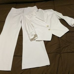 Express Suit White